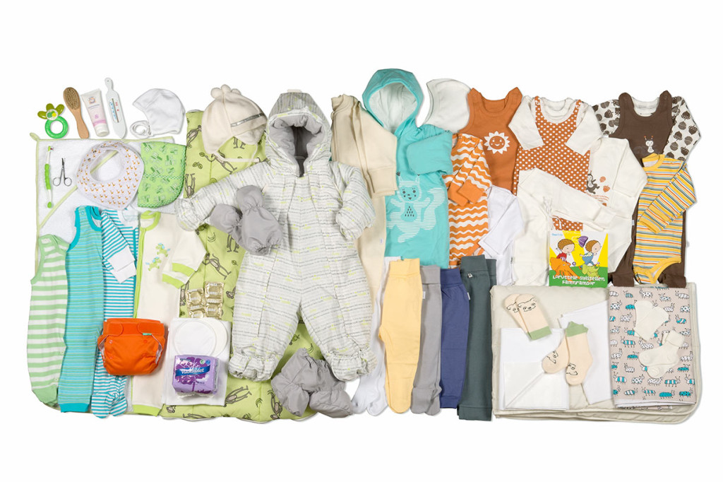 Finnish maternity package: a constant reminder of egalitarianism,http://www.kela.fi/web/en/maternitypackage.